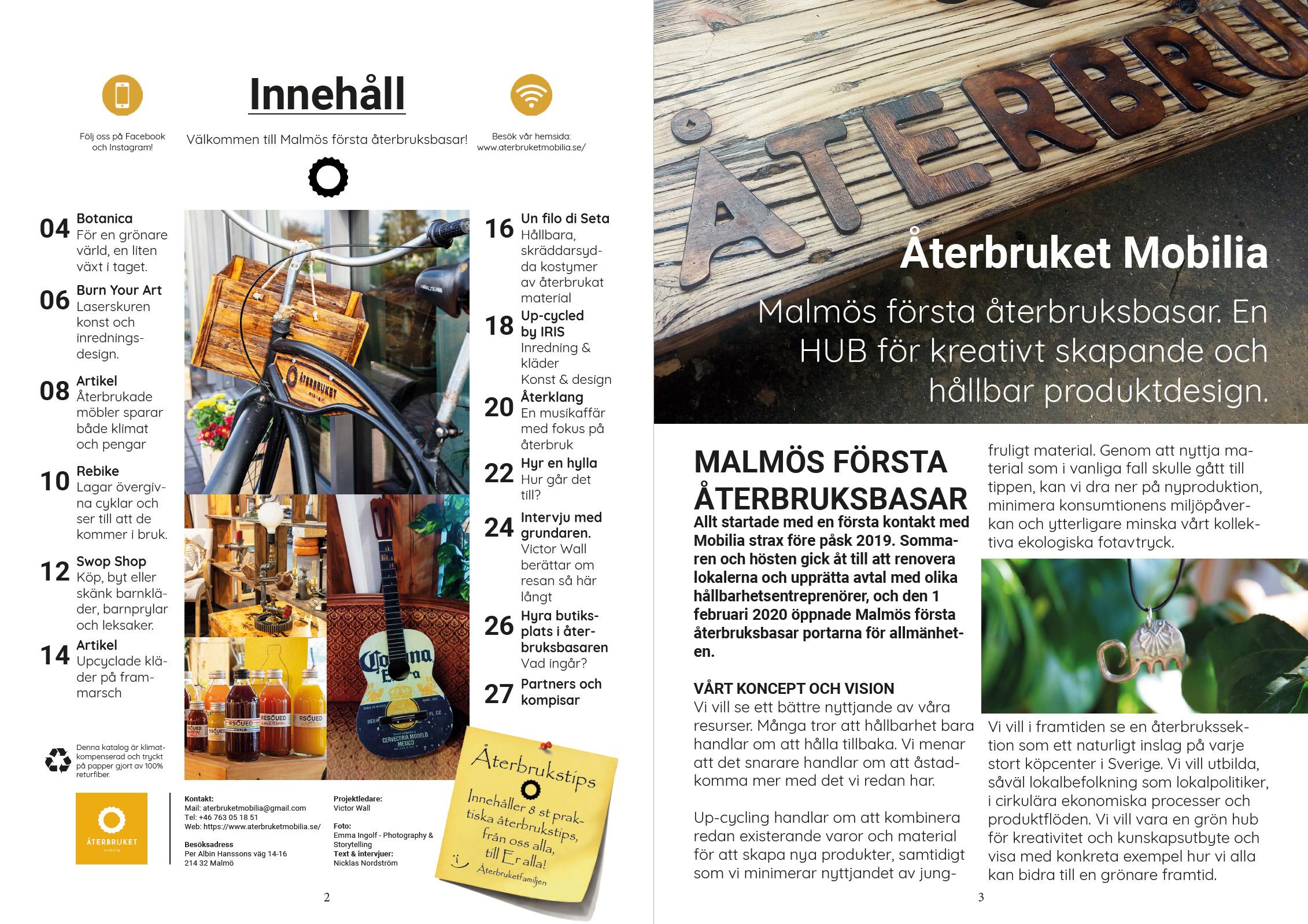 Återbruket mobilia katalog förhandsvisning