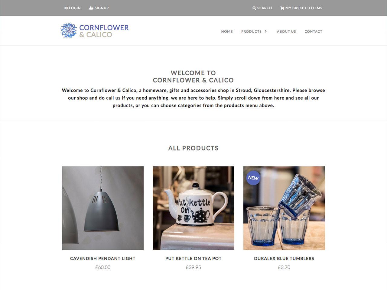 Spotlight On: Cornflower & Calico
