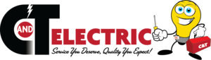 C and T Electric Logo