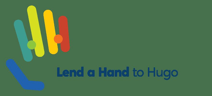 lend a hand to hugo logo