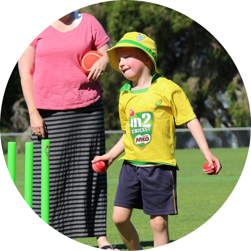child holding ball