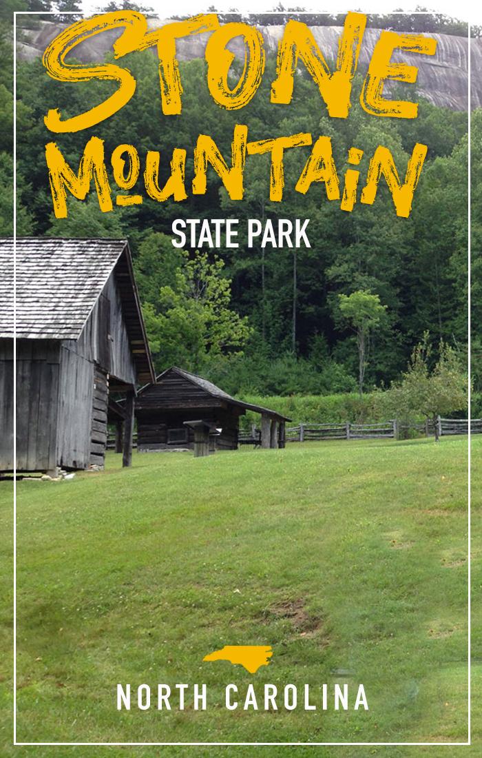 Pinterest Pin for Stone Mountain, NC