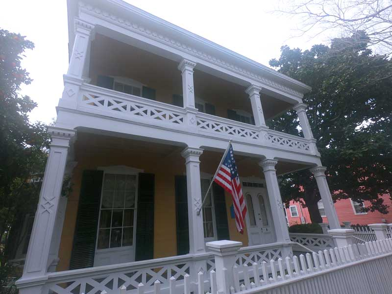 Dorr House at Historic Pensacola Village Florida