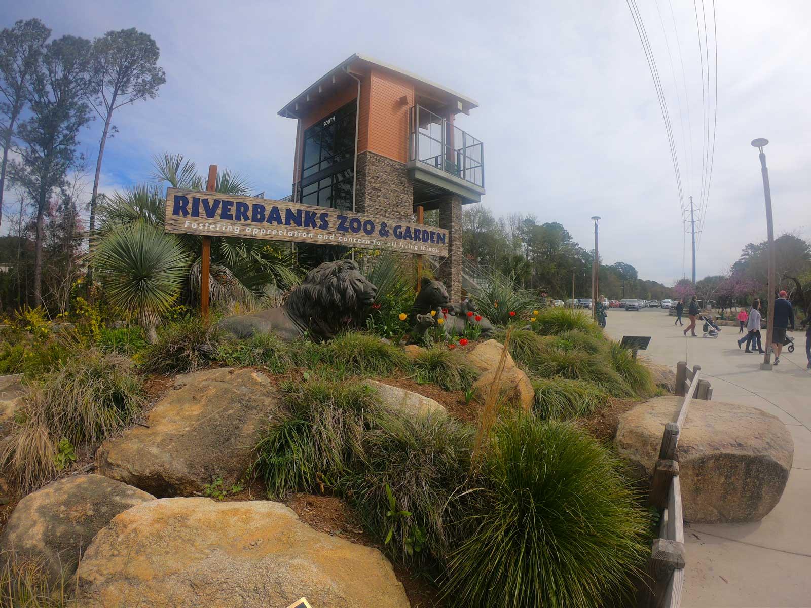 Front entrance to Riverbanks Zoo & Garden, Columbia, SC