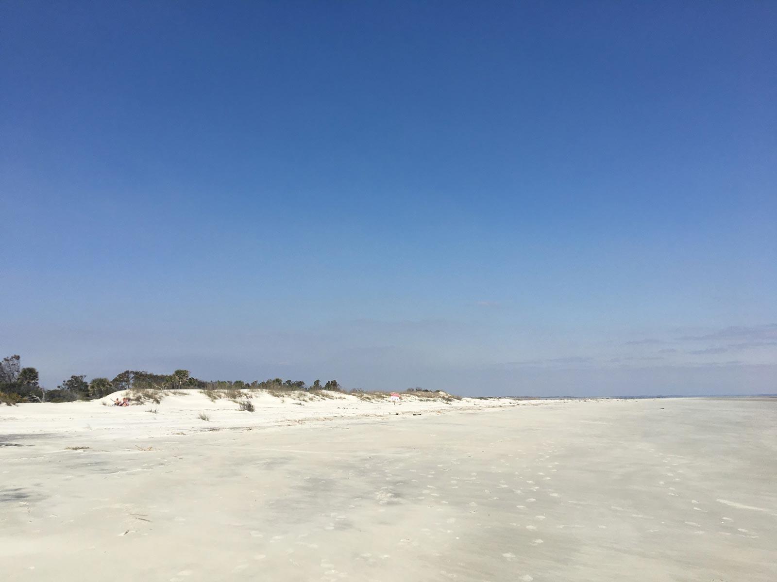 Beach front at Hunting Island State Park, South Carolina