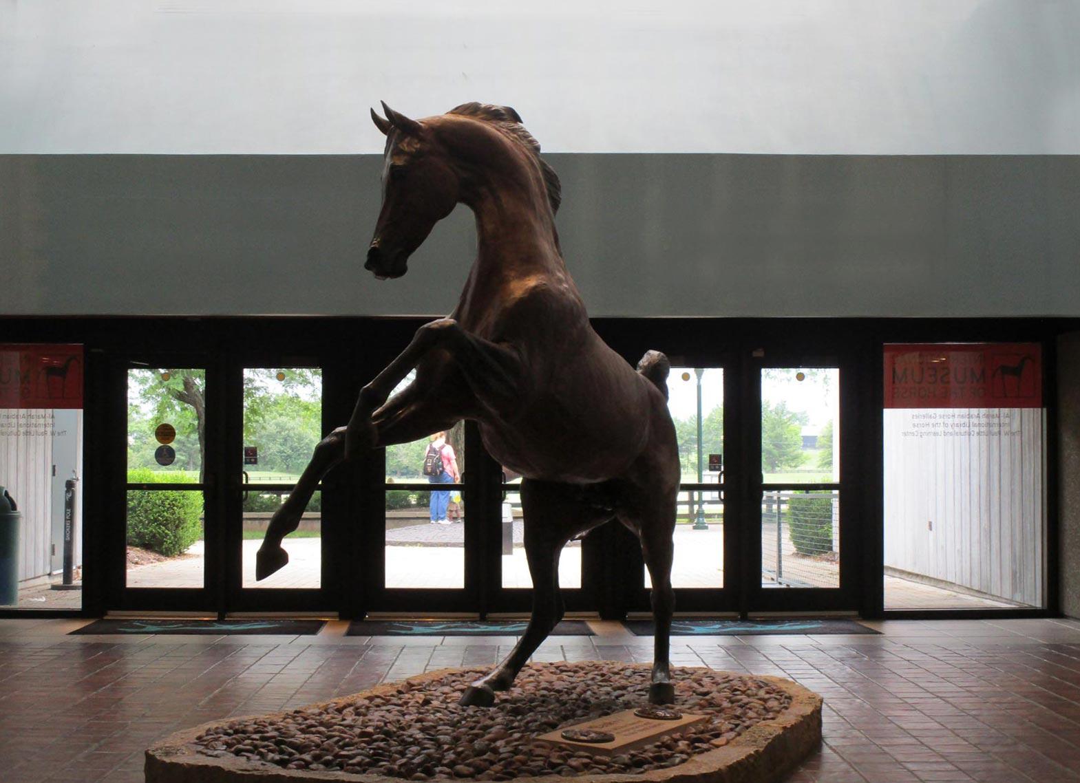 Visitor Center at Kentucky Horse Park, Lexington, Kentucky