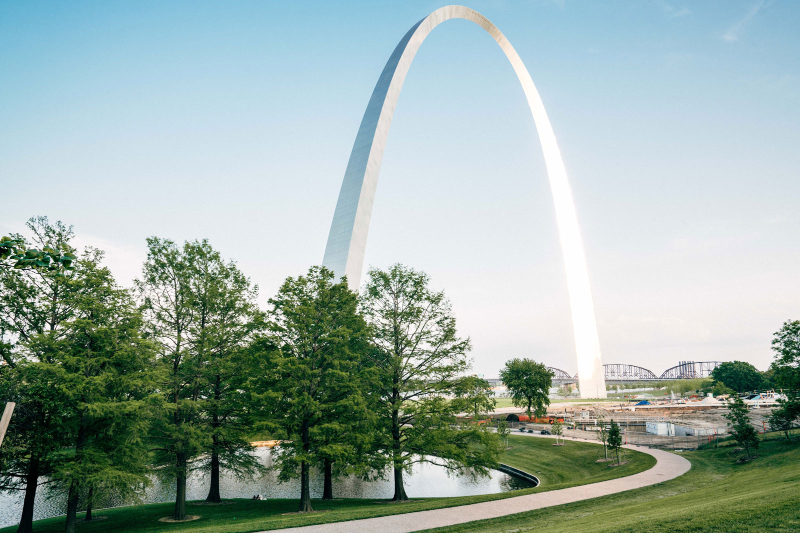 St Louis Arch in St Louis, MO