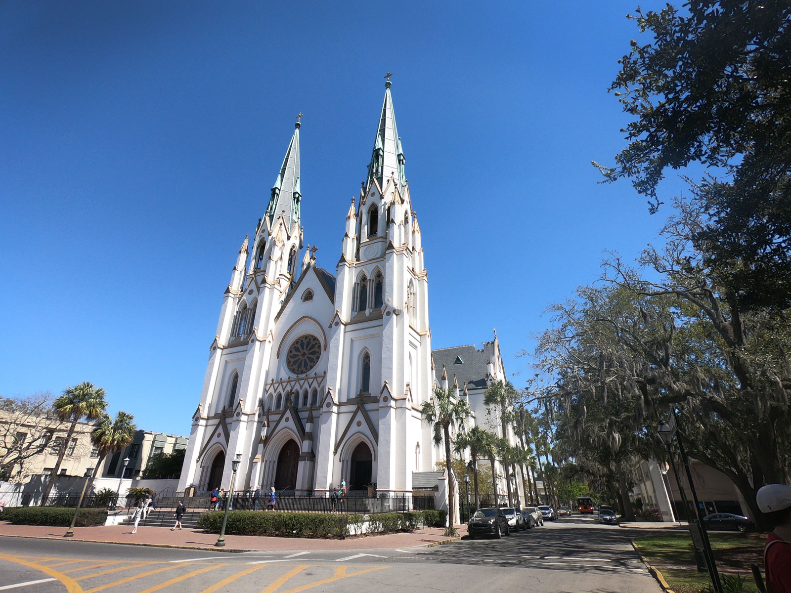 Cathedral of St John the Baptist in Savannah, Georgia