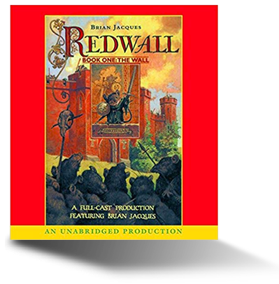 Redwall audiobook cover