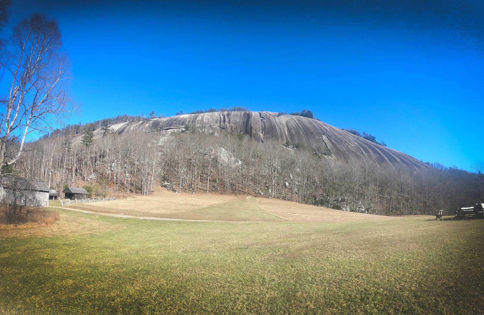 Stone Mountain at Stone Mountain State Park, North Carolina