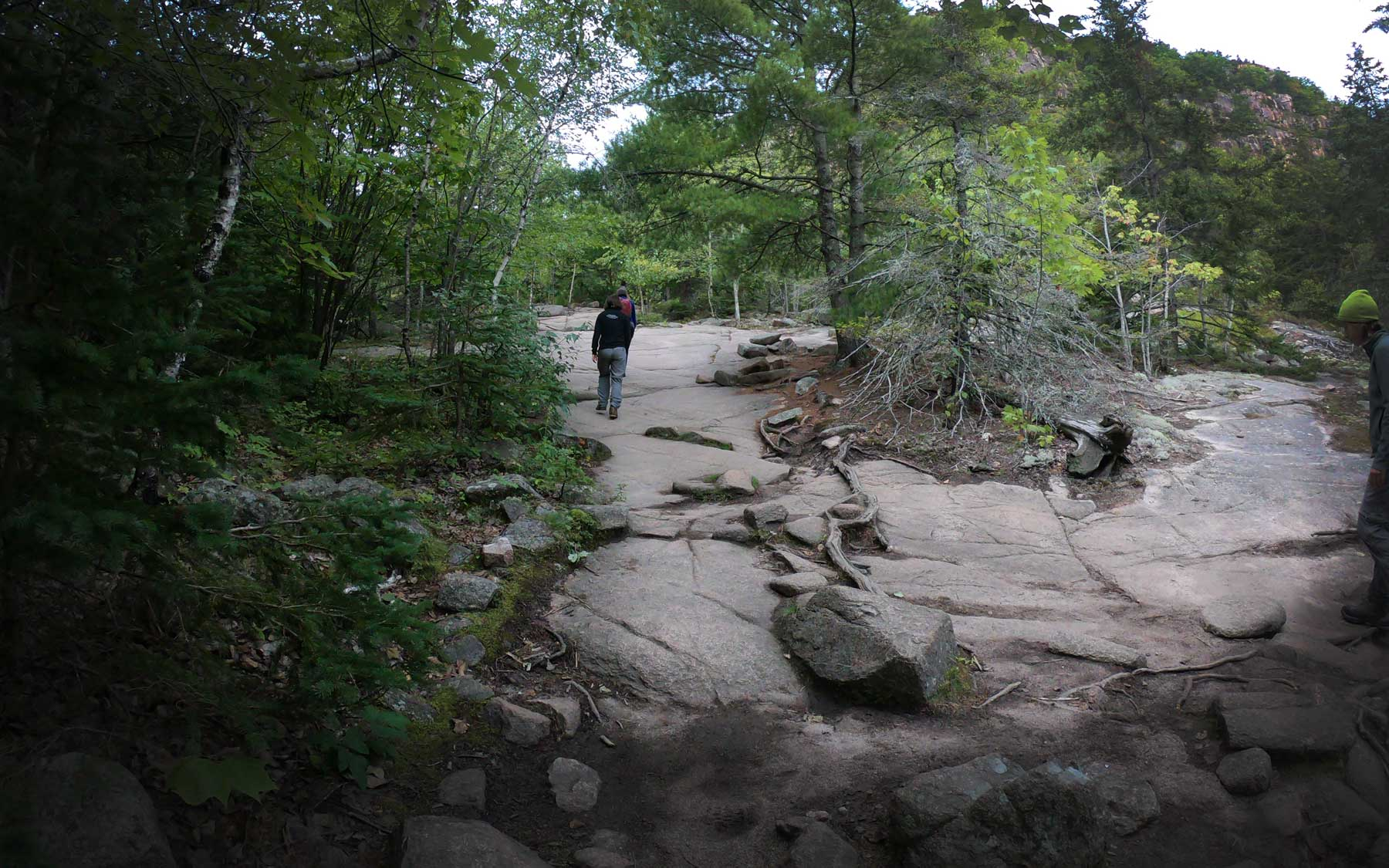 Hiking the Beehive Trail, Acadia National Park, Maine
