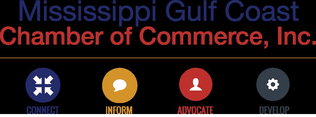Mississippi Gulf Coast Chamber of Commerce logo