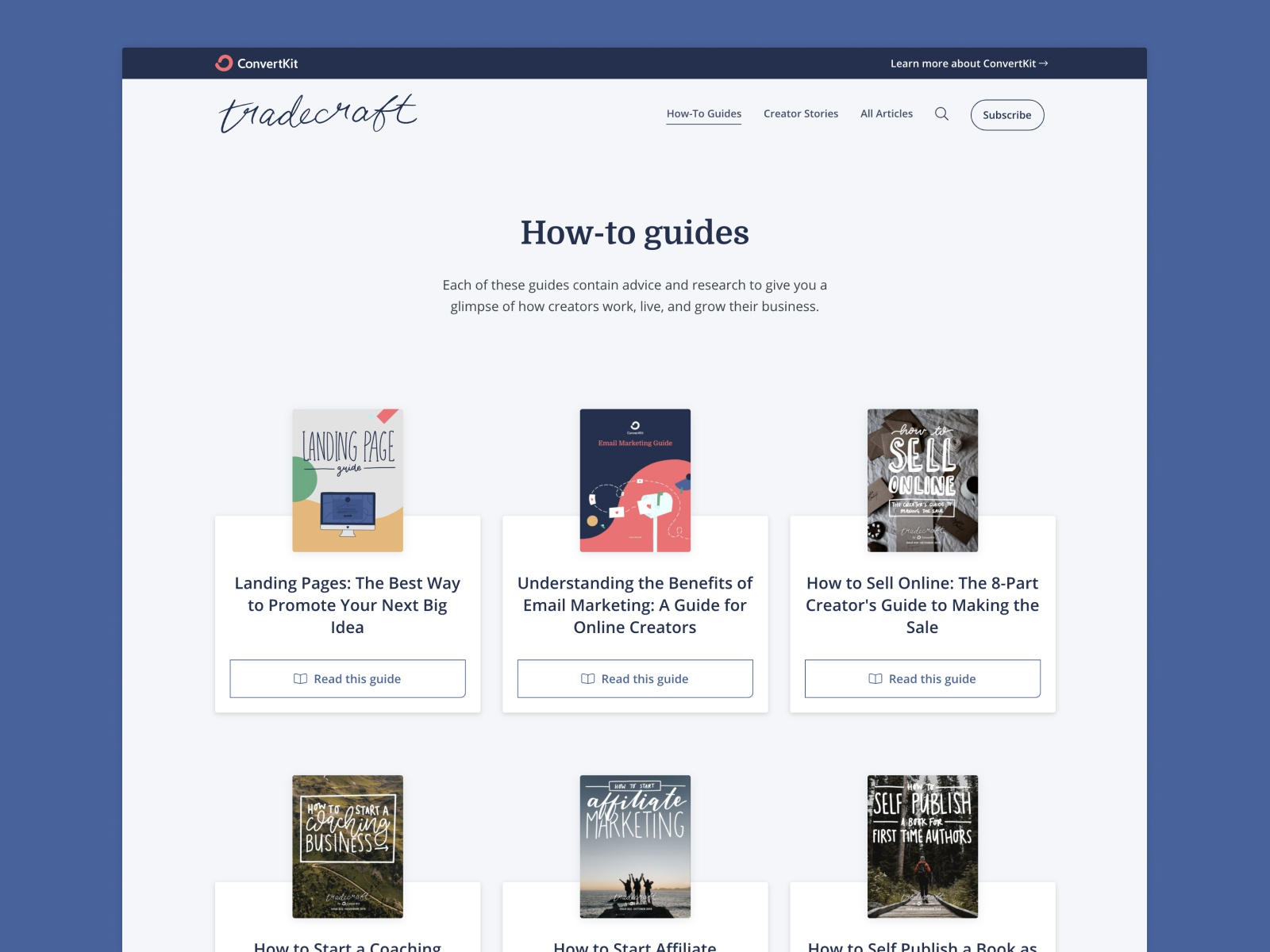 Library of how-to guides