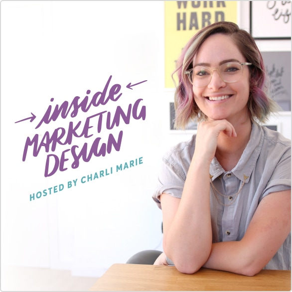 Inside Marketing Design podcast cover