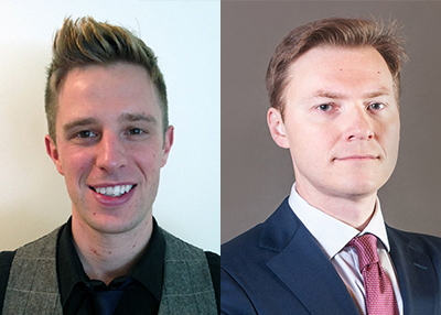 Two New Visiting Fellows: Russell Buchan and Przemysław Roguski