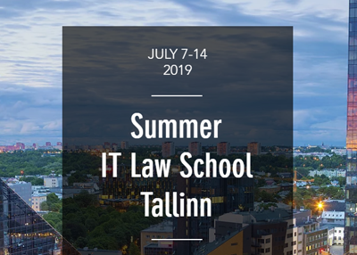 Keynote by Liisi Adamson at Summer IT Law School 2019