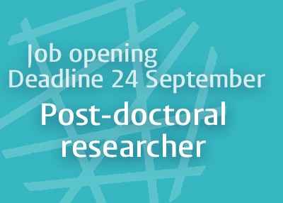 Join our team as a Post-doctoral Researcher