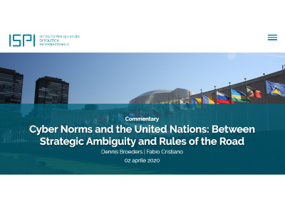 Commentary   Cyber Norms and the United Nations