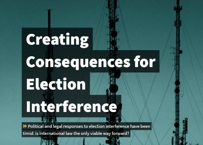 New Blog on Directions | Creating Consequences for Election Interference
