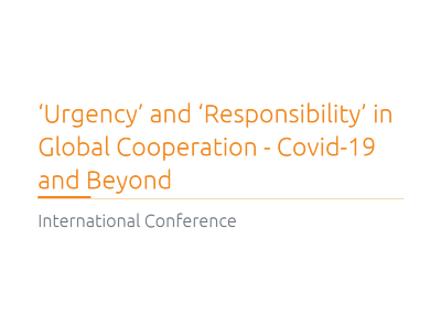 Tatiana Tropina Speaking at International Online Conference 'Urgency' and 'Responsibility' in Global Cooperation