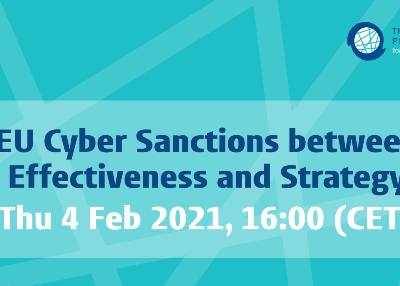 Recording Available for EU Cyber Sanctions between Effectiveness and Strategy