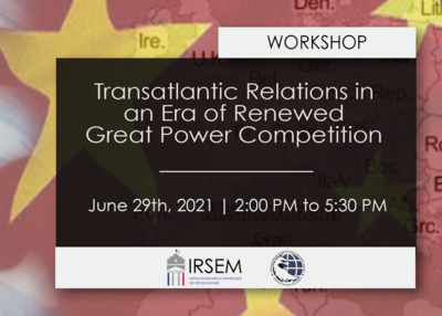 Fabio Cristiano Speaking at Transatlantic Relations in an Era of Renewed Great Power Competition