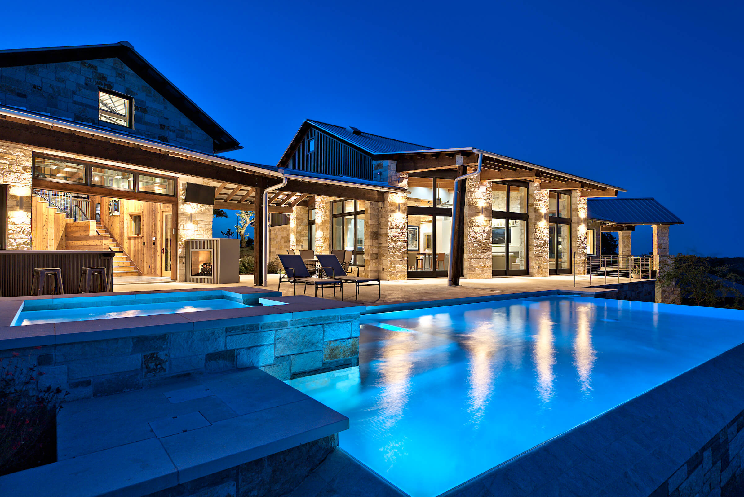 Industrial Texas Hill Country Modern