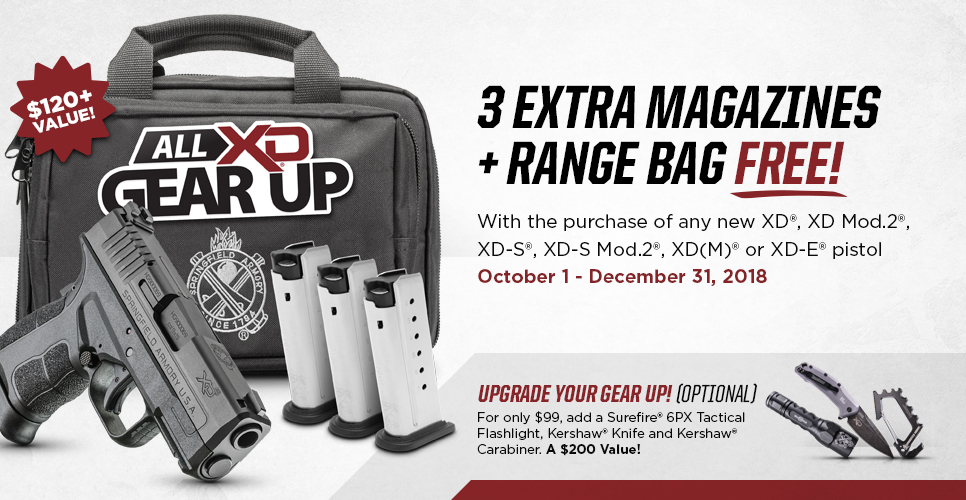 Springfield Armory's All XD Gear Up Promotion