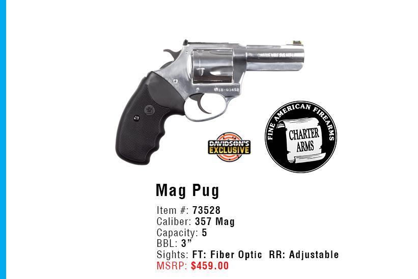 Great Gun Giveaway - Charter Arms Mag Pug
