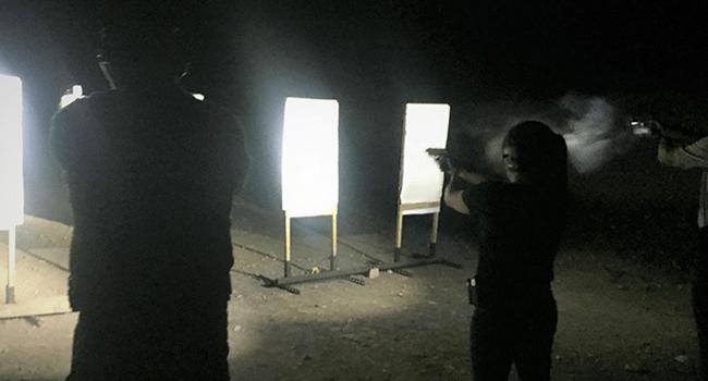 Lights on Target