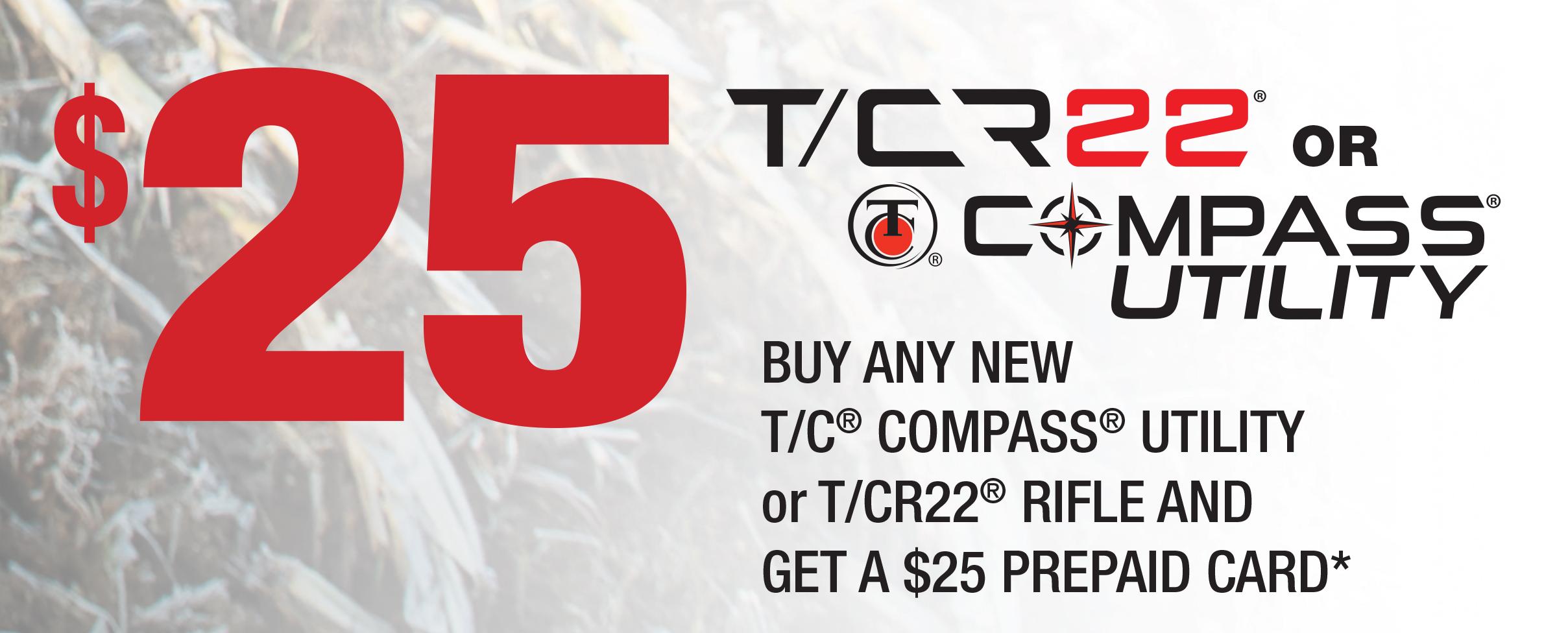 TCRebate 25 TCR22 Compass Utility