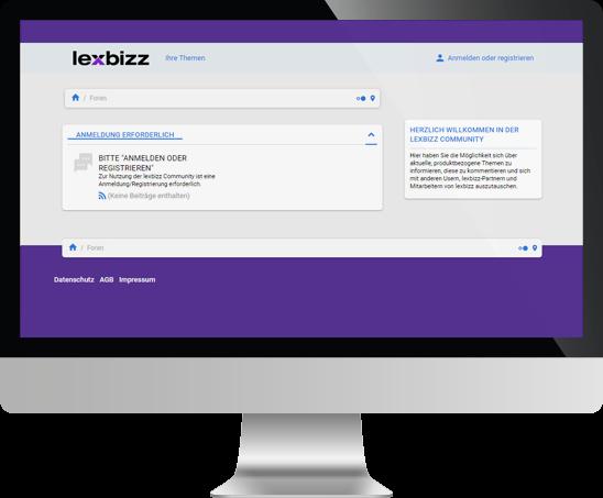 lexbizz ERP – Screen aus Verkauf