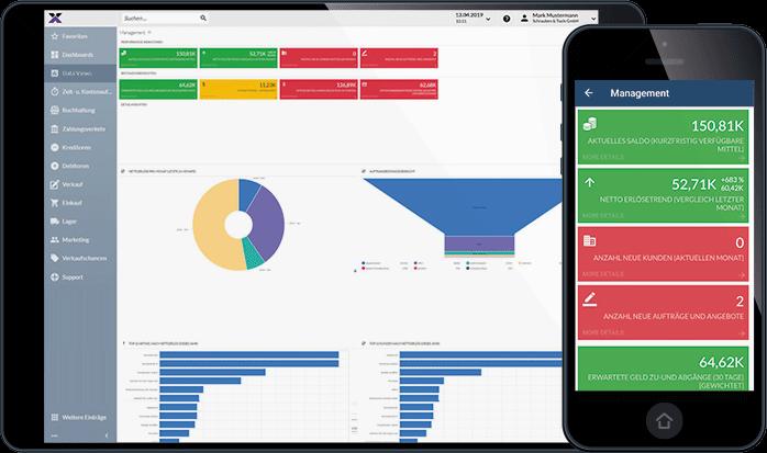 lexbizz ERP – Mobile App