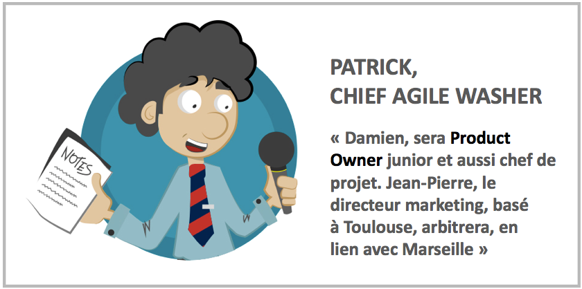 Intro Organisation Agile : protéger le leadership des personnes clés Agile washing : attention, toxique !