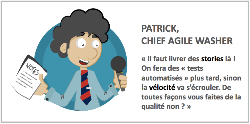 Intro Technologie : conserver du temps pour les tâches techniques Agile washing : attention, toxique !