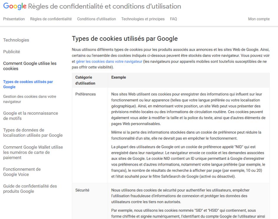 Gestion Des Cookies Quatre Grands Sites Francais Passes Au