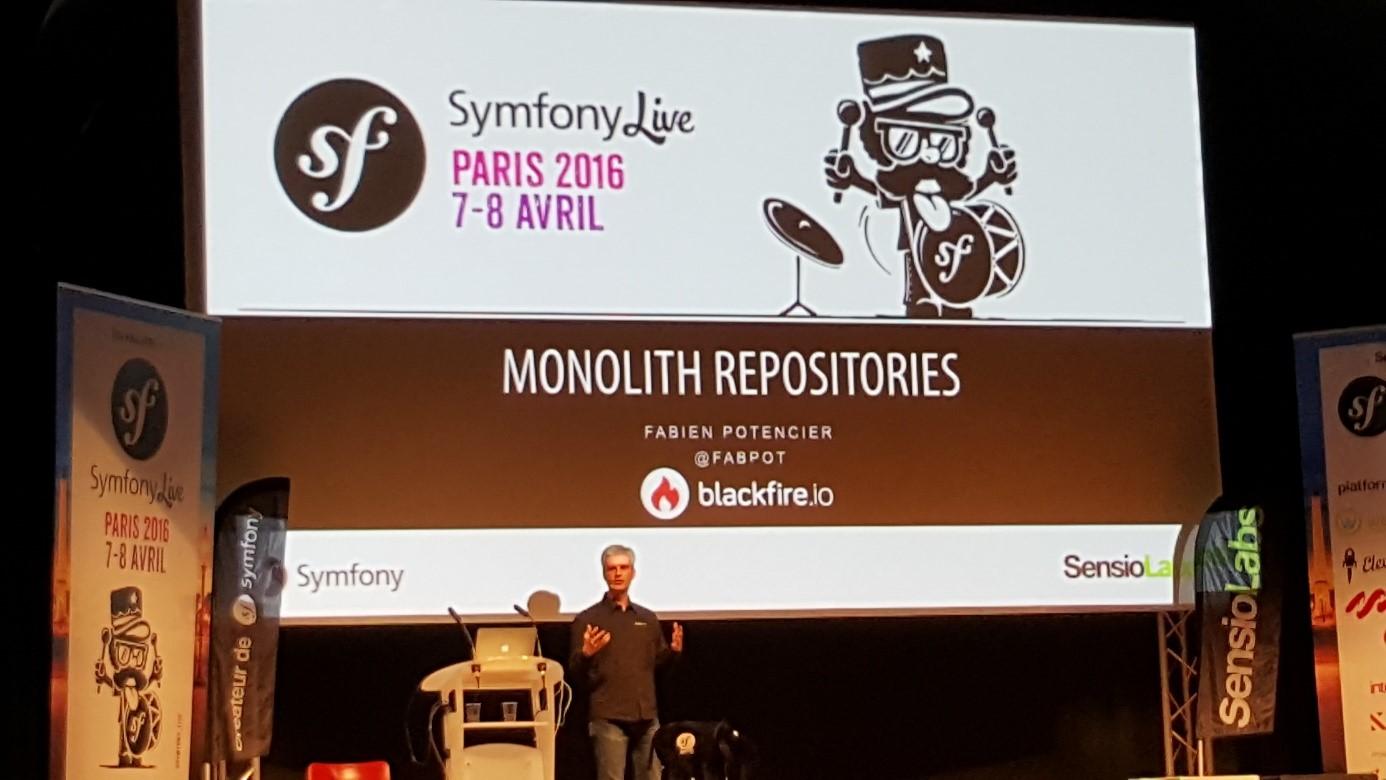 SymfonyLive Monolith Repositories