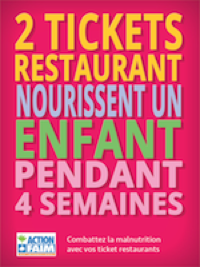 Action contre la fin et tickets rectaurant