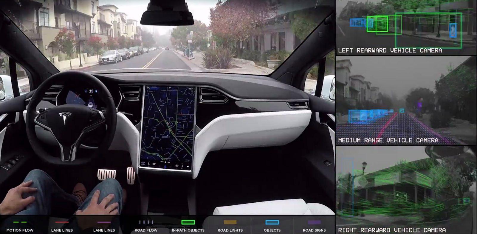 Image de l'Autopilot Tesla