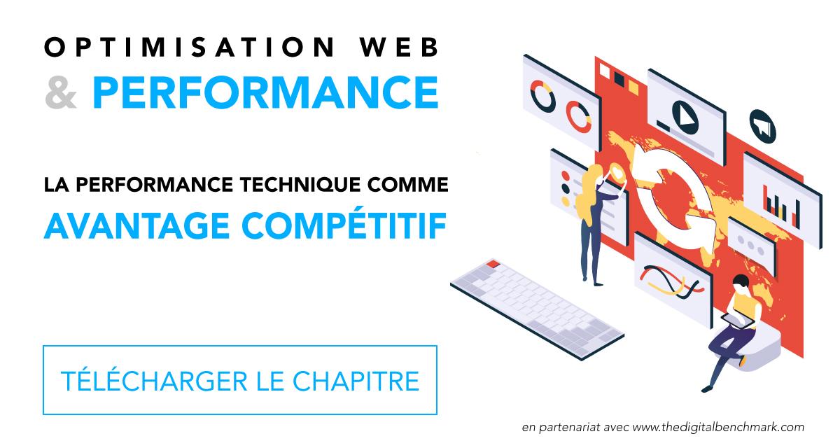 Image permettant de télécharger le chapitre complet écrit par Keley sur la performance technique comme avantage compétitif pour le Yearbook 2019 du Digital Benchmark