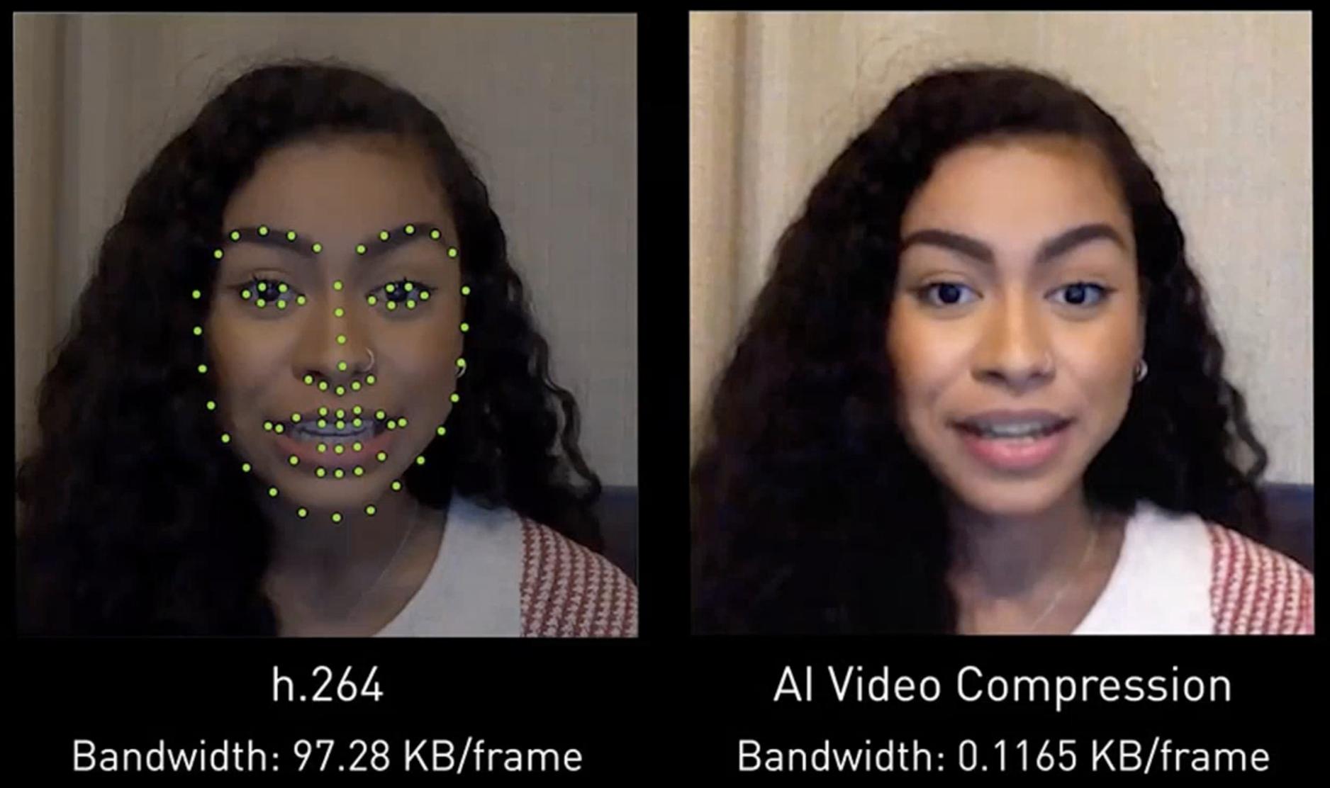La technologie d'IA NVIDIA pour améliorer la qualité des visioconférences