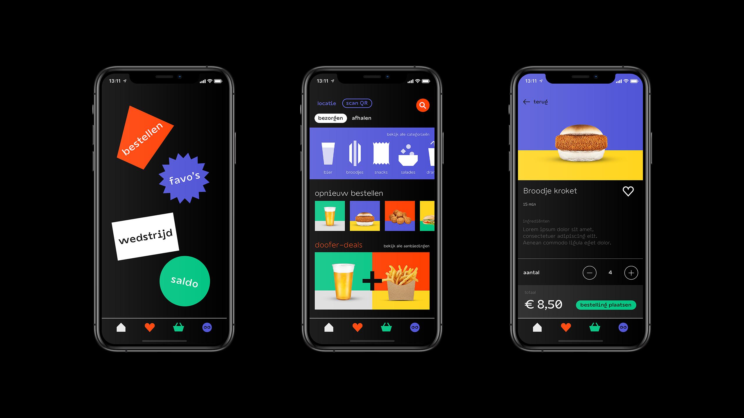 Doofer app screens 2