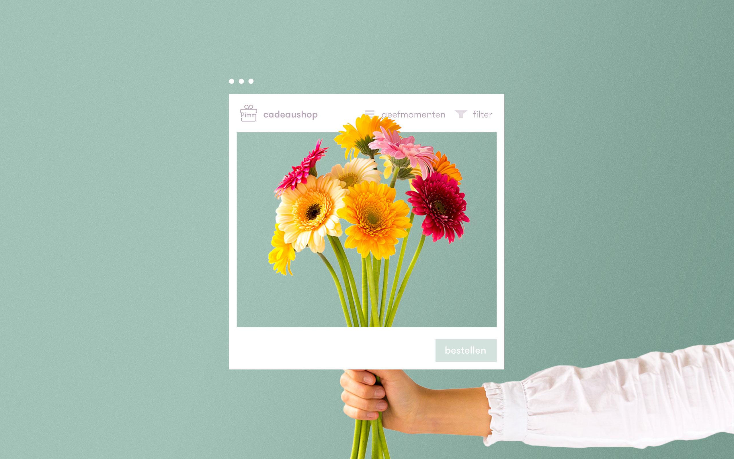 Pimm bloemen