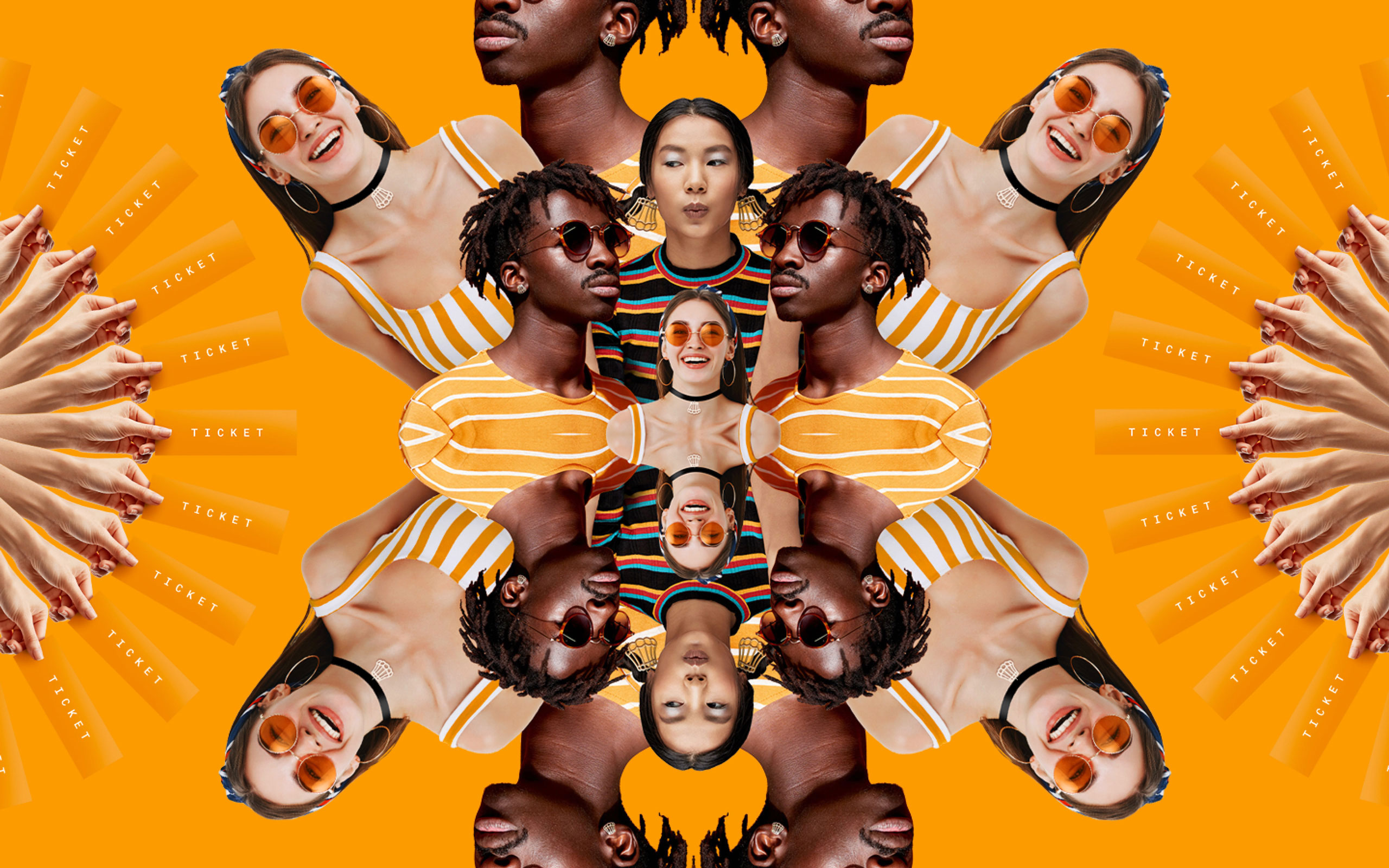 Oranjebitter kaleidoscope