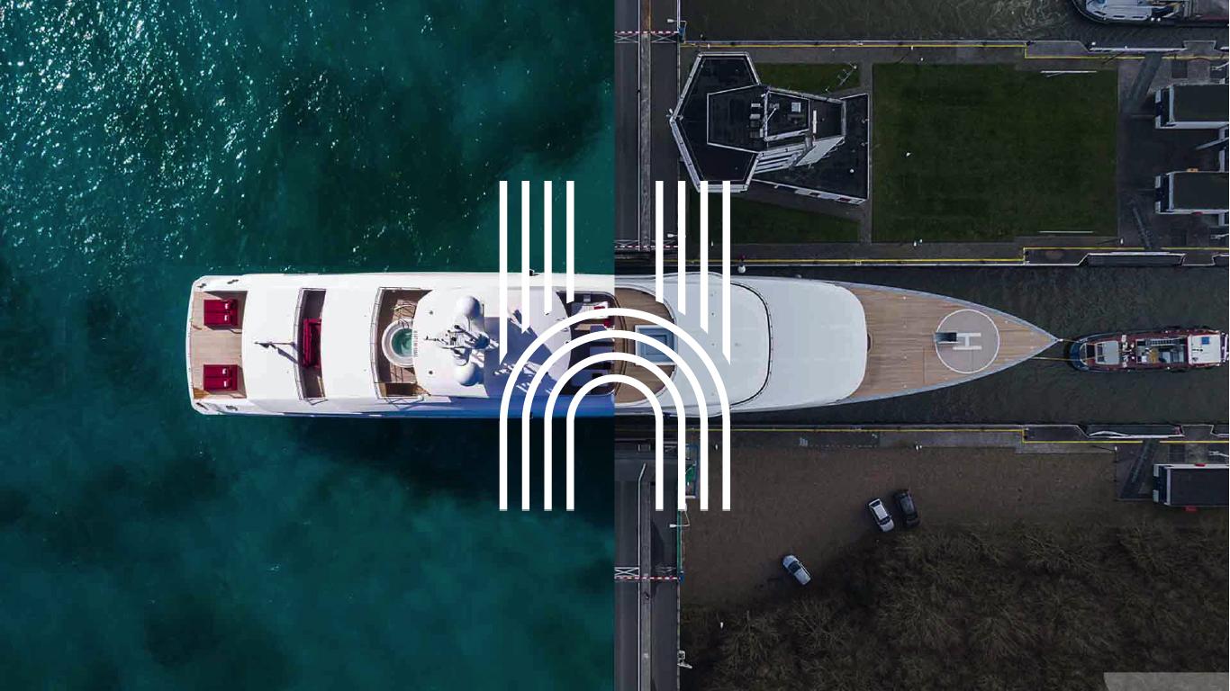 Yacht splitscreen