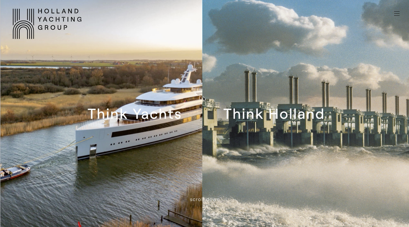 Website-Holland yachting group