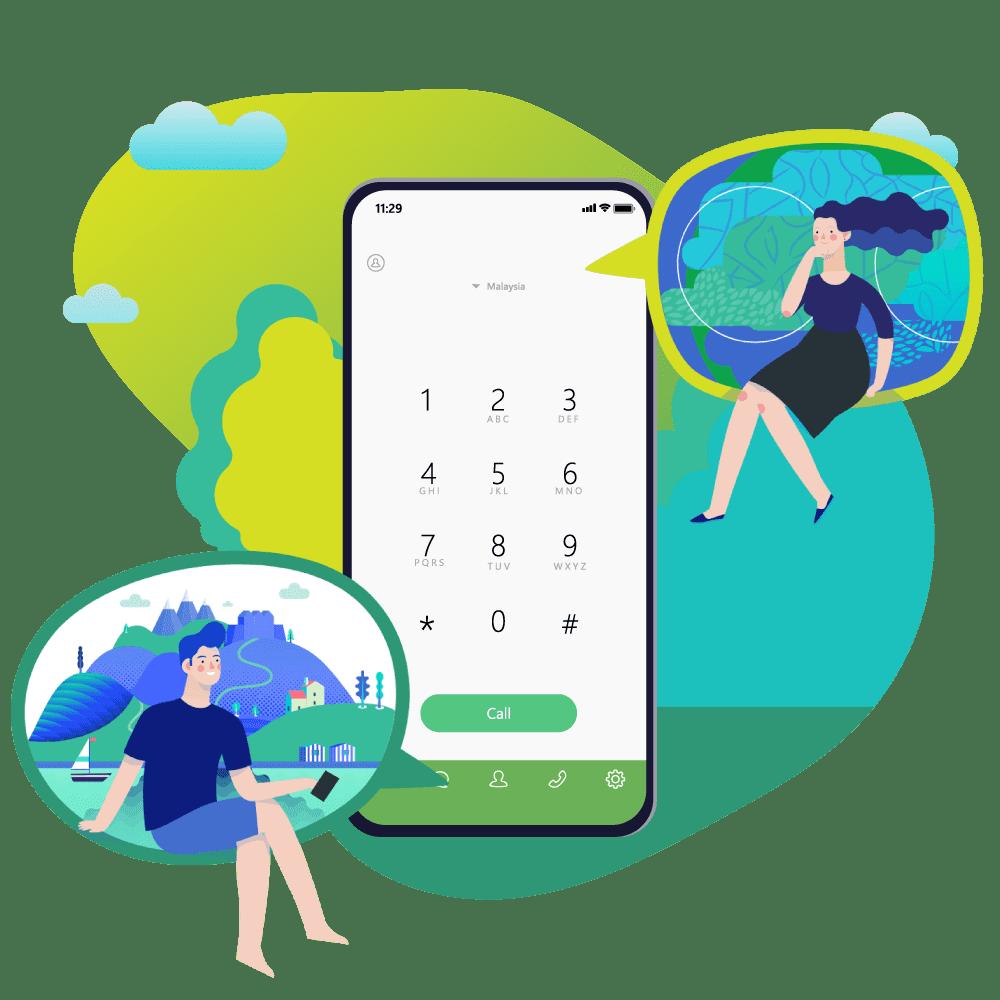 Omni Hotline phone call