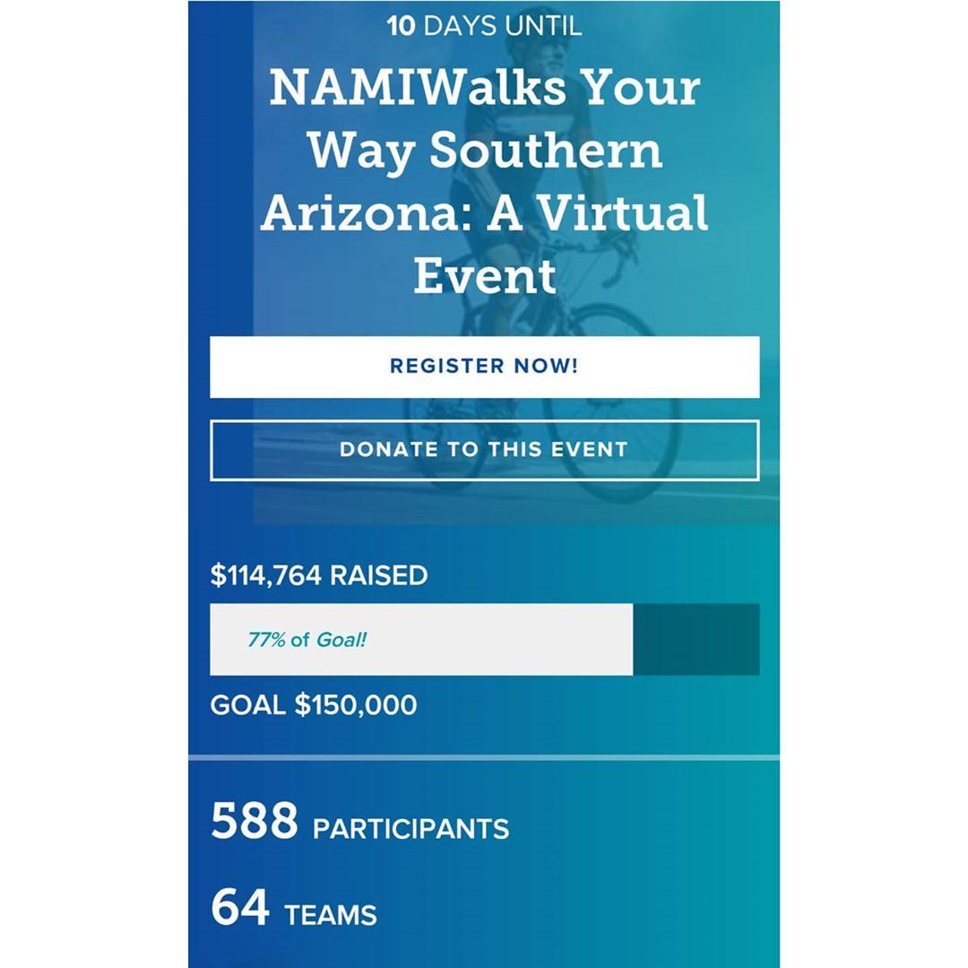 NAMIWalks Your Way Southern Arizona: A Virtual Event
