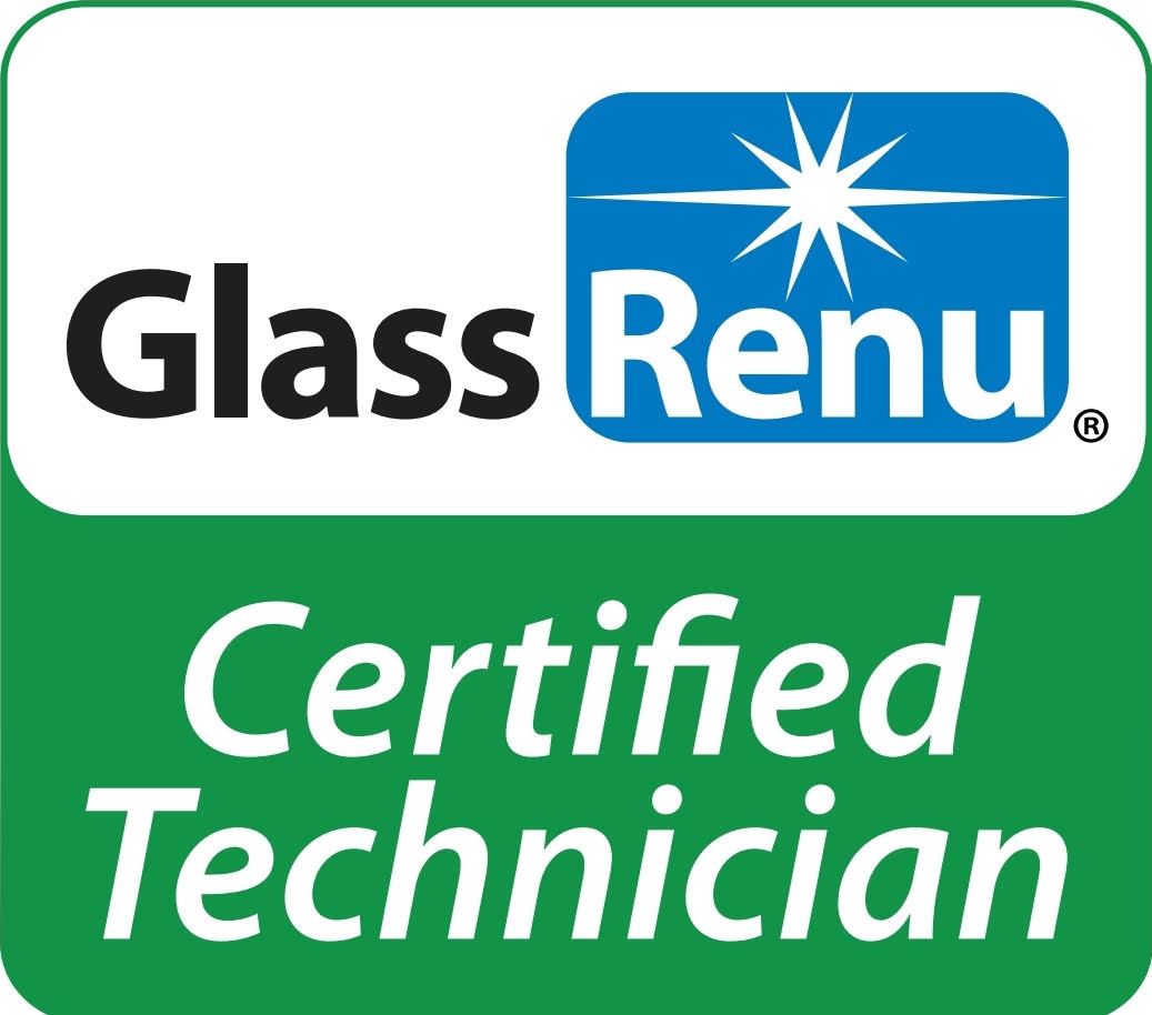 gabe's spotless window cleaning is a glassrenu certified technician