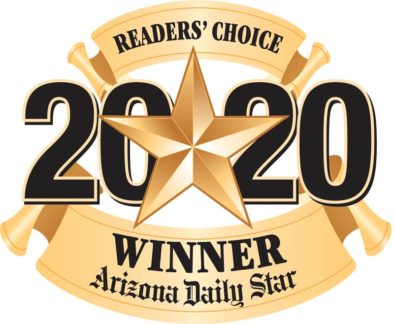 Gabe's Spotless Window Cleaning was voted the Arizona Daily Star Readers Choice 2020 winner
